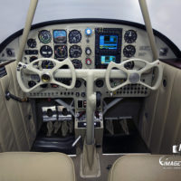 Beechcraft Staggerwing Cockpit