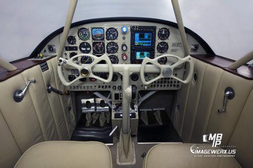 Beechcraft Staggerwing Cockpit