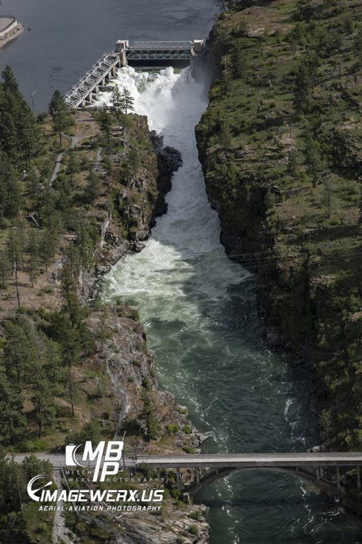 Falls Park Aerial South
