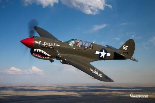 Curtiss P-40 Warhawk Air to Air