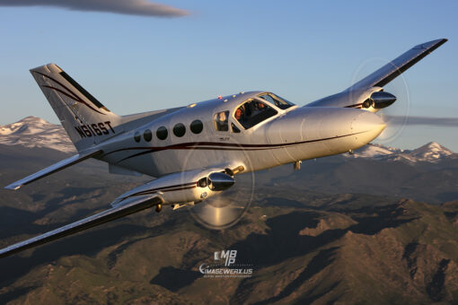 Cessna 414 0143