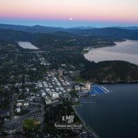 Coeur d' Alene Idaho Sunset 0243