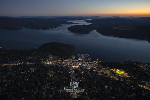 Coeur d' Alene Idaho sunset 0300