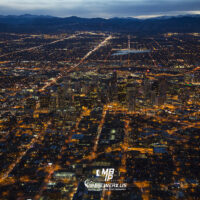Denver Night Aerial 6380