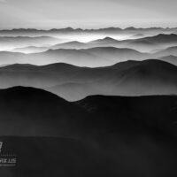 Coeur d' Alene Mountain Range 0478